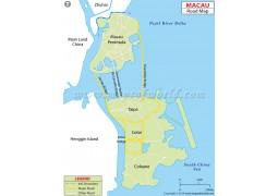 Macau Road Map - Digital File