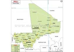 Mali Road Map - Digital File