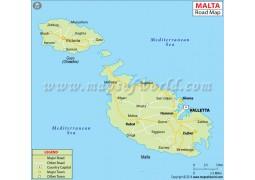 Malta Road Map - Digital File