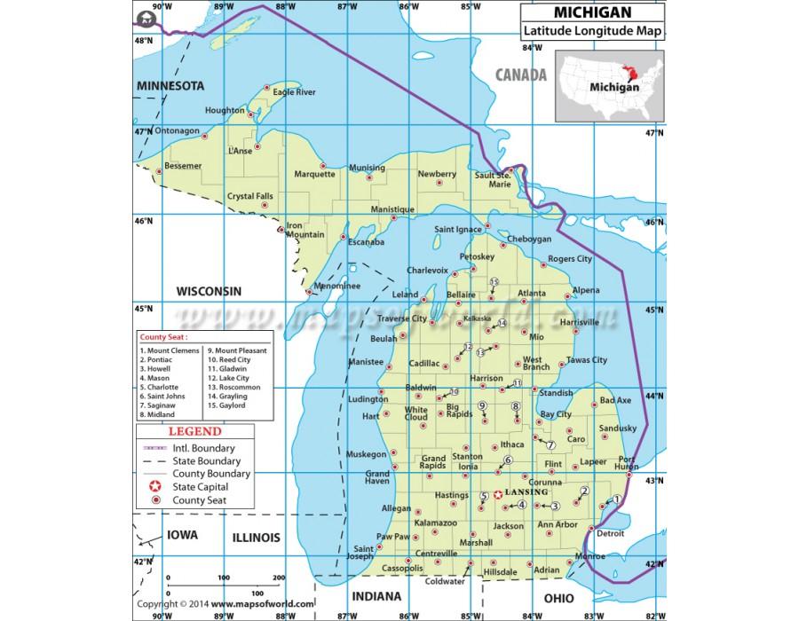 latitude and longitude map pdf