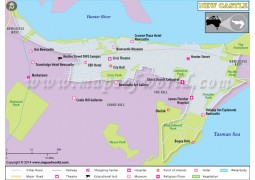 New Castle City Map - Digital File