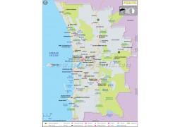 Perth Map - Digital File