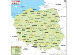 Poland Road Map - Digital File