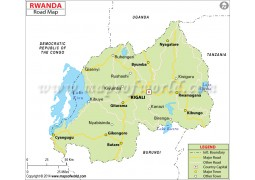Rwanda Road Map - Digital File