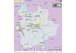 Salzburg City Map - Digital File