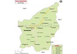 San Marino Road Map
