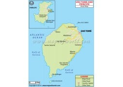 Sao Tome And Principe Road Map