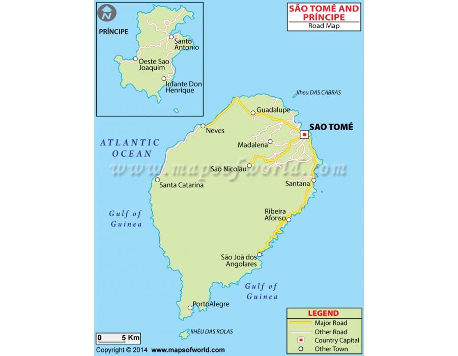 Buy Sao Tome And Principe Road Map Sao Tome World Map on saudi arabia world map, mauritania world map, laos world map, liberia world map, japan world map, botswana world map, portugal world map, angola world map, switzerland world map, congo world map, norway world map, guantanamo bay world map, burundi world map, peru world map, bangladesh world map, denmark world map, tonga world map, brazil world map, france world map, n korea world map,