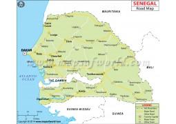 Senegal Road Map - Digital File