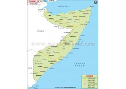Somalia Road Map - Digital File