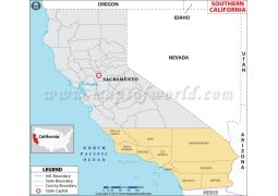 Map ofSouthern California - Digital File