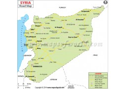 Syria Road Map - Digital File
