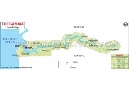 The Gambia Road Map