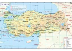 Turkey Map - Digital File