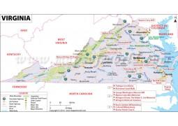 Map ofVirginia