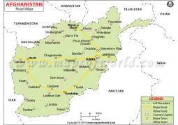 Afghanistan Road Map - Digital File