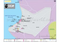 Alofi City Map