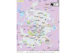Austin City Map - Digital File