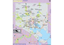 Baltimore City Map - Digital File