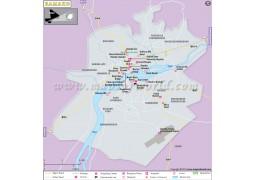Bamako City Map