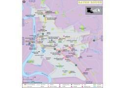 Baton Rouge City Map