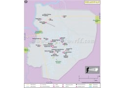 Belmopan City Map - Digital File