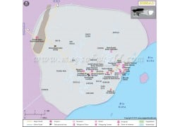Bissau City Map - Digital File