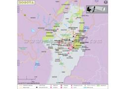 Bogata City Map - Digital File
