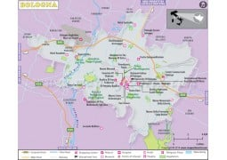 Bologna Map - Digital File