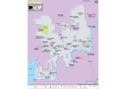 Branson City Map - Digital File
