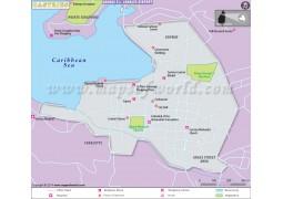 Castries City Map - Digital File