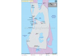 Cockburn Town City Map - Digital File