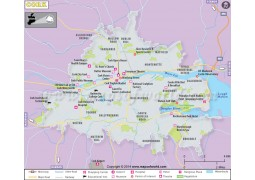 Cork Map - Digital File