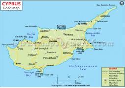 Cyprus Road Map - Digital File