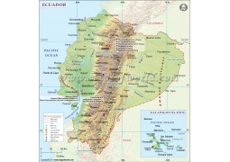 Ecuador Map - Digital File
