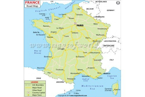 France Road Map