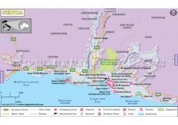 Genoa Map - Digital File
