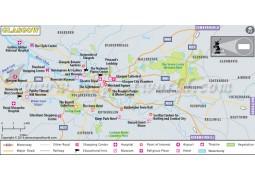 Glasgow Map - Digital File