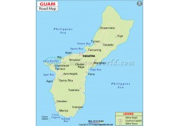 Guam Road Map - Digital File