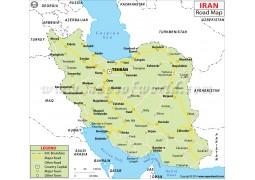 Iran Road Map - Digital File