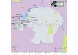 Kinshasa Map - Digital File