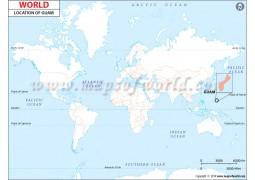 Guam Location Map - Digital File