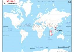 Vietnam LocationMap - Digital File