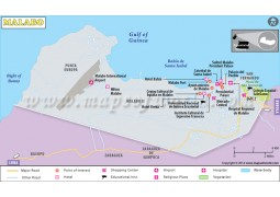 Malabo Map - Digital File
