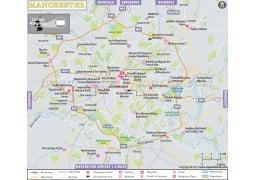 Manchester Map - Digital File