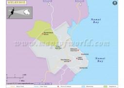 Melekeok City Map - Digital File