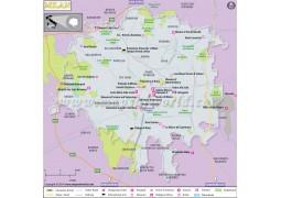 Milan Map - Digital File