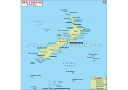 New Zealand Road Map - Digital File