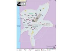Nouakchott City Map - Digital File