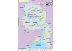 Novosibirsk City Map - Digital File